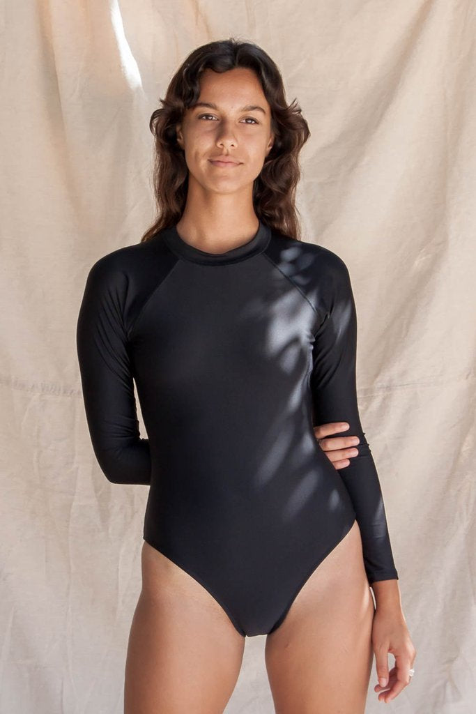 Spring Surf Suit- Black