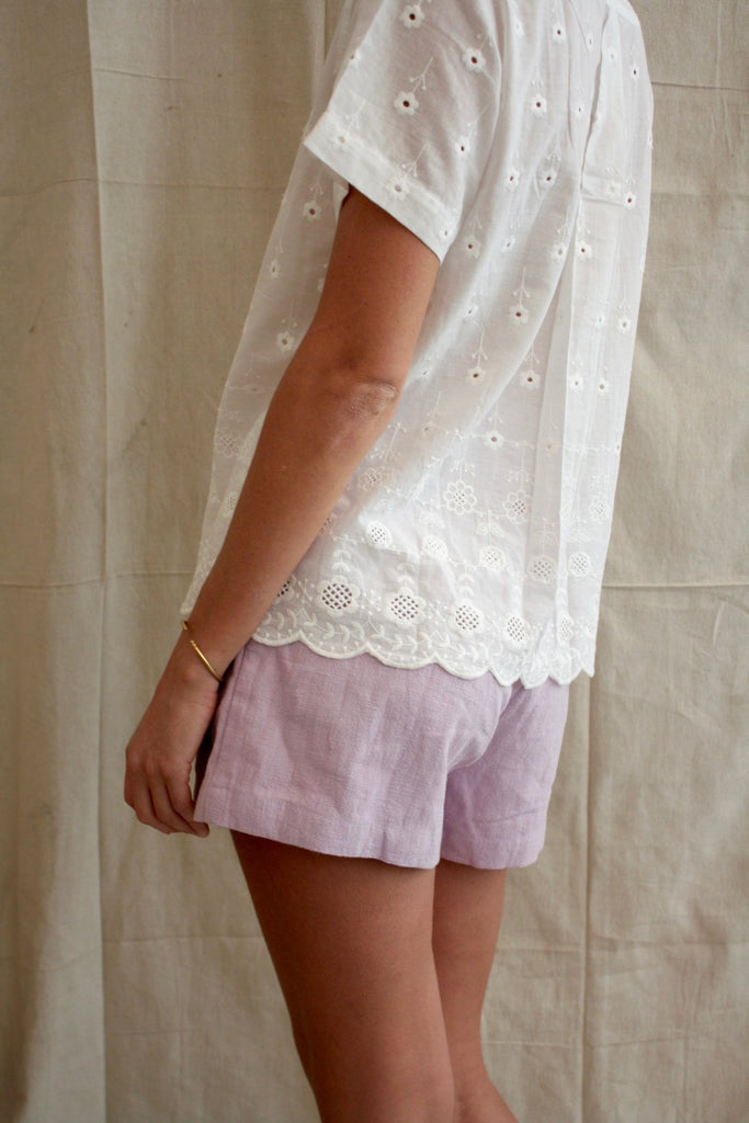 Sailing Shorts - Lilac Nettle
