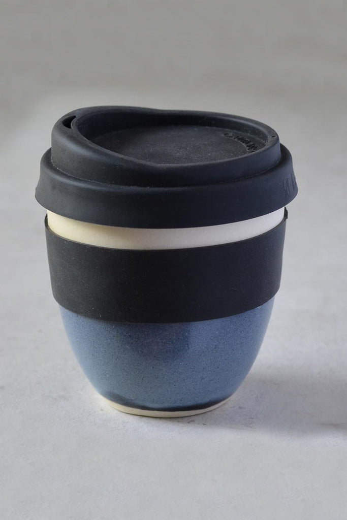 Reusable Takeaway Cup 12oz - Stormy Blue