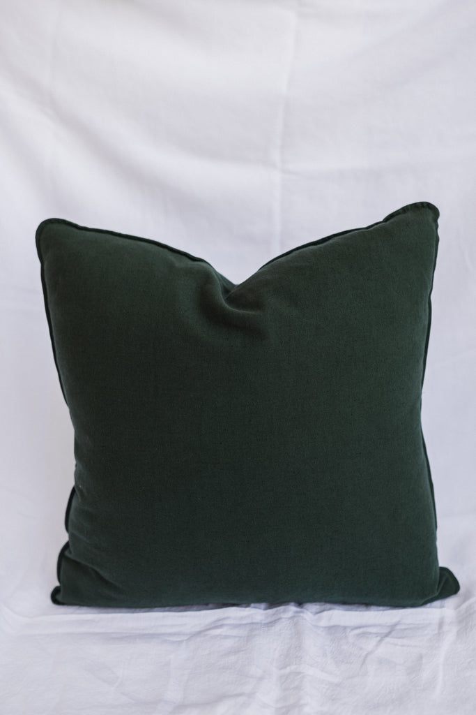 Kind x Worktones Cushion - Dark Green