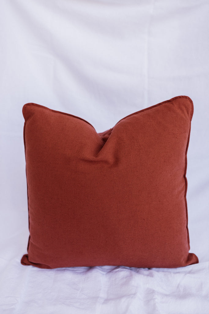 Kind x Worktones Cushion - Rust