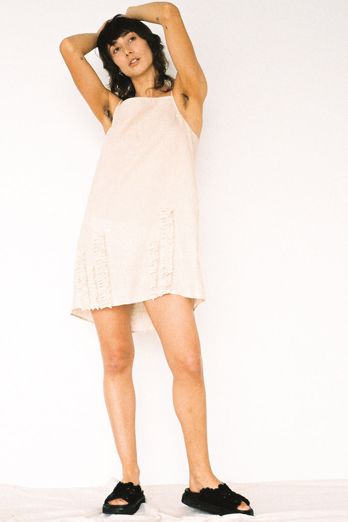 Jessie Slip Dress - Fawn