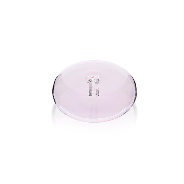 The Glass Pebble Incense Holder - Pink