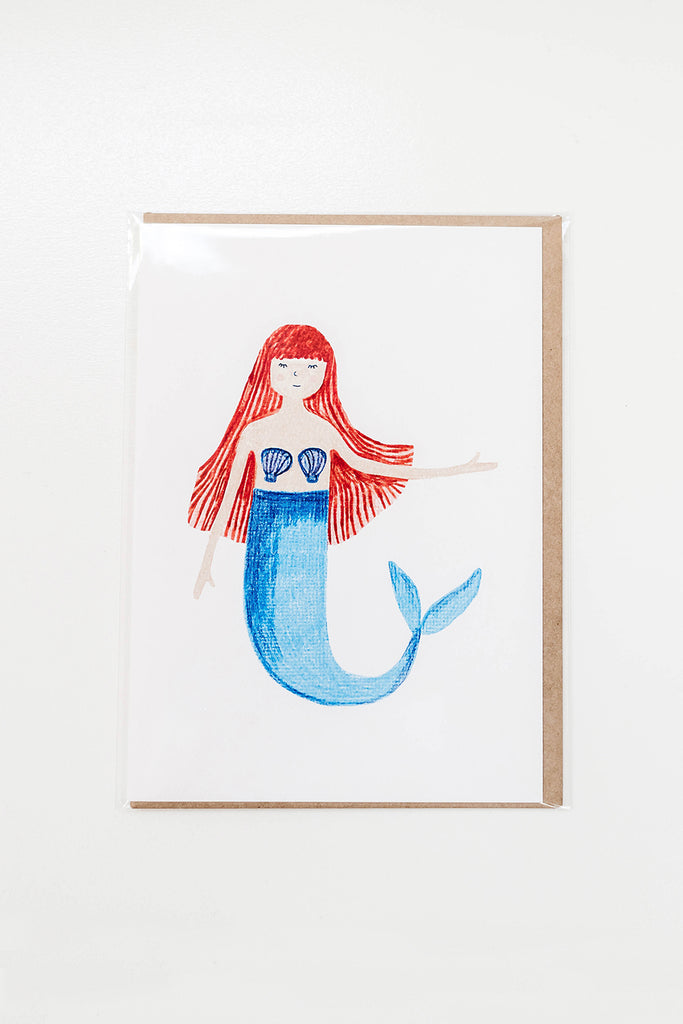 Card - Mermaid