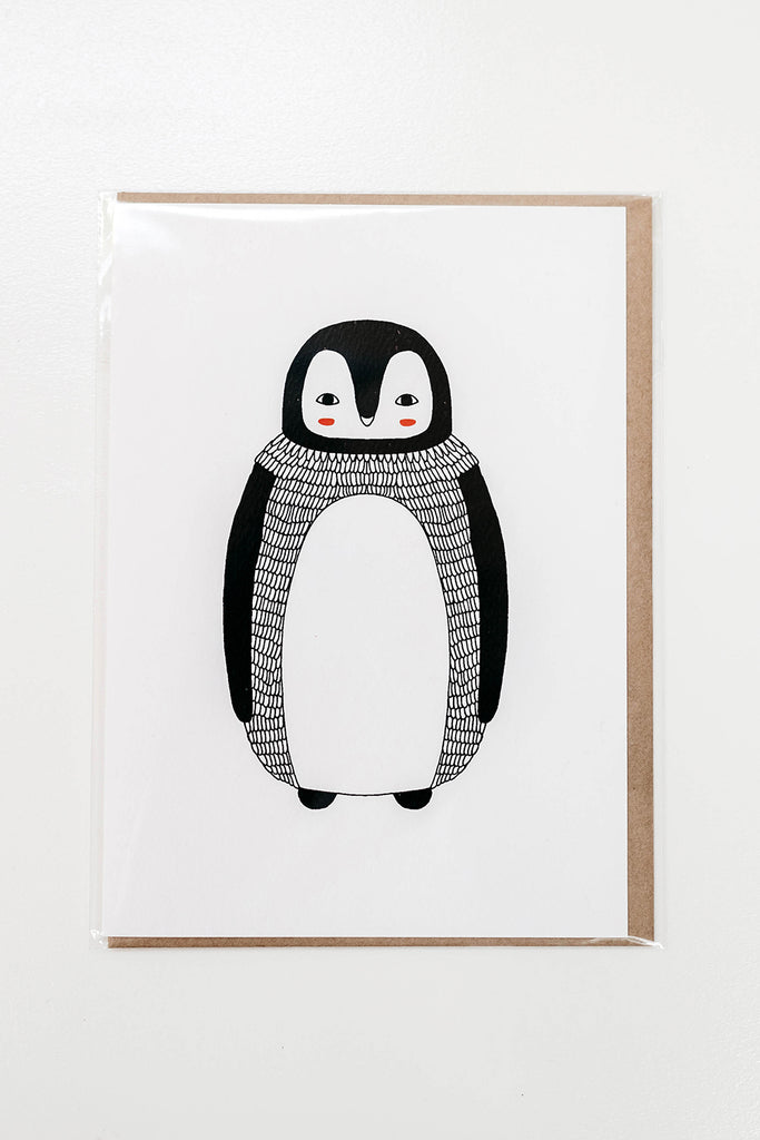 Card - Penguin
