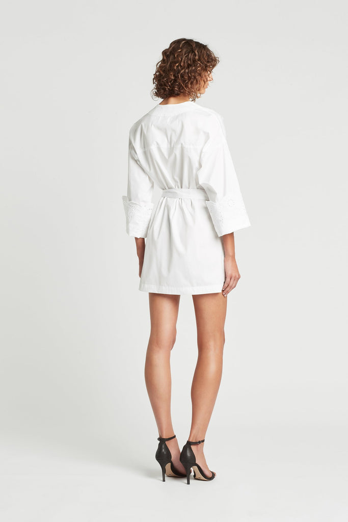 Delilah Mini Dress - Ivory
