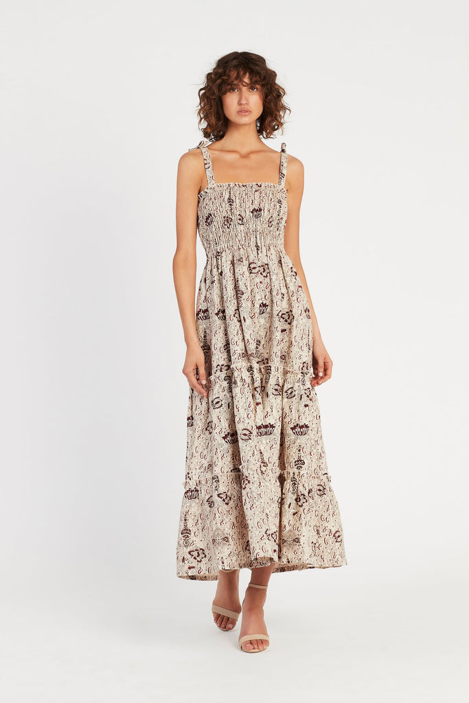 Stella Tiered Maxi Dress