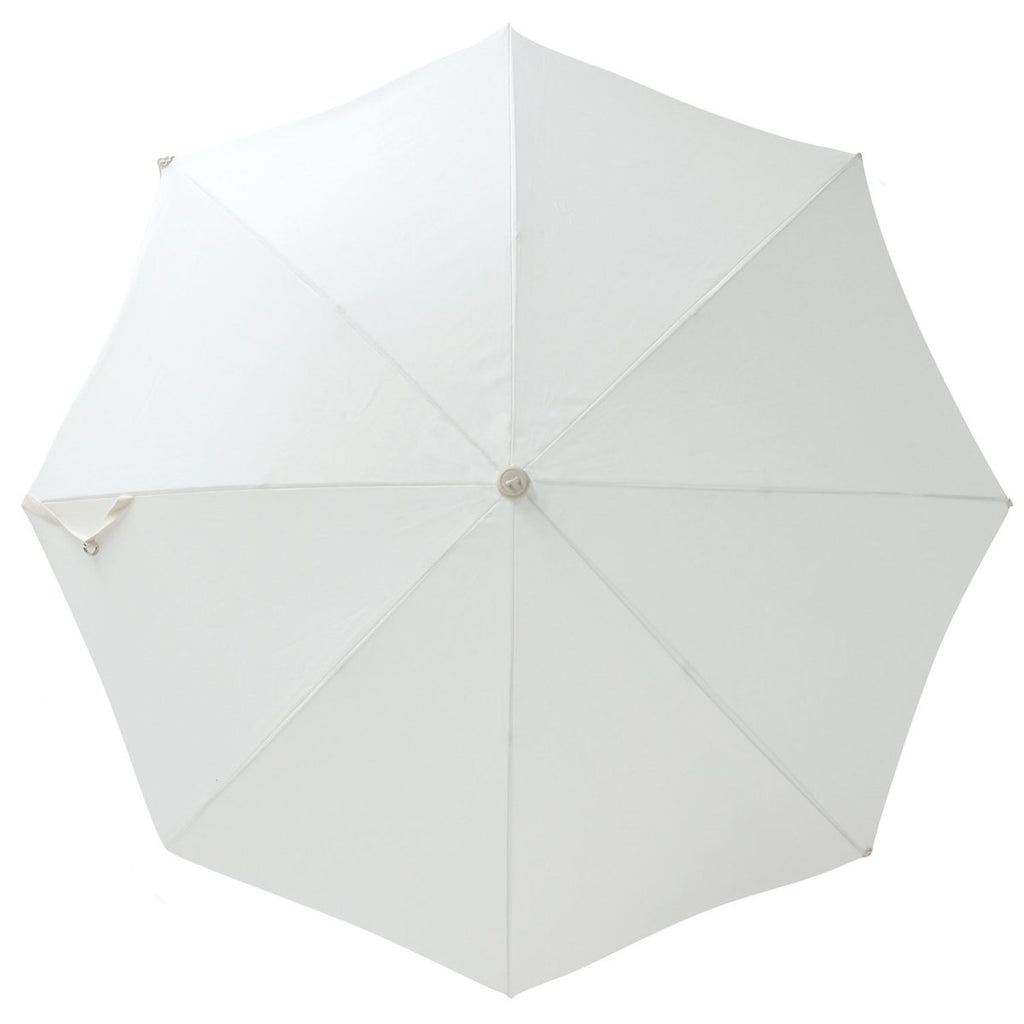 Holiday Beach Umbrella - Antique White