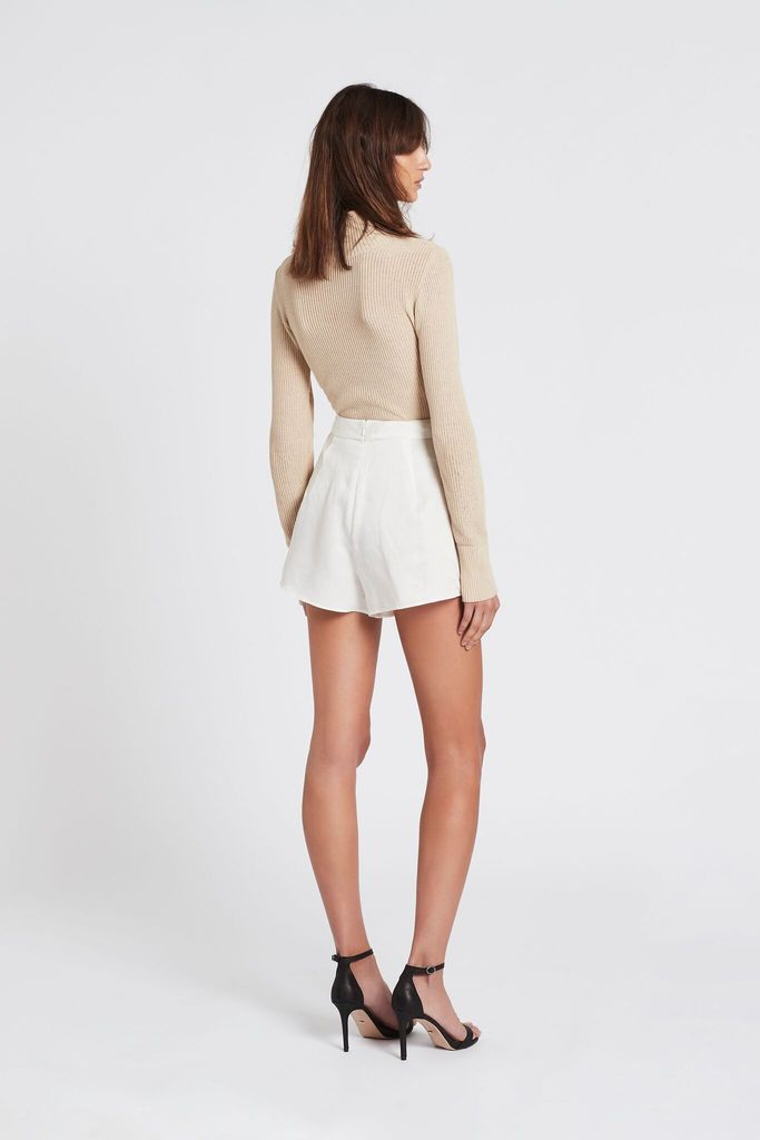Matiice Tailored Short - Ivory