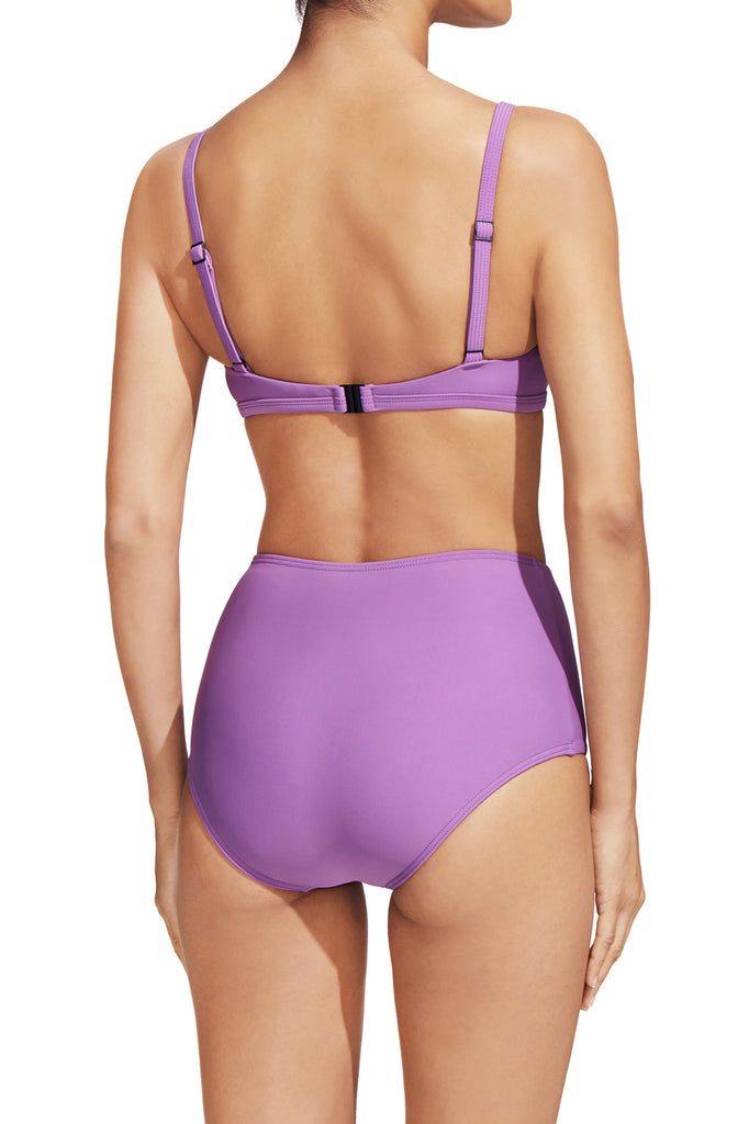 The Square Crop Top - Lilac