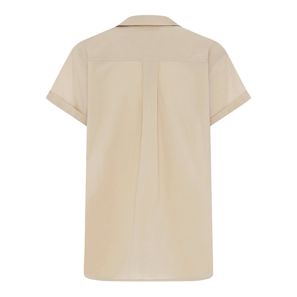 The Short Sleeve Shirt - Stone