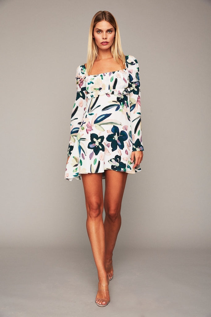 Vine Dress - White Hopper