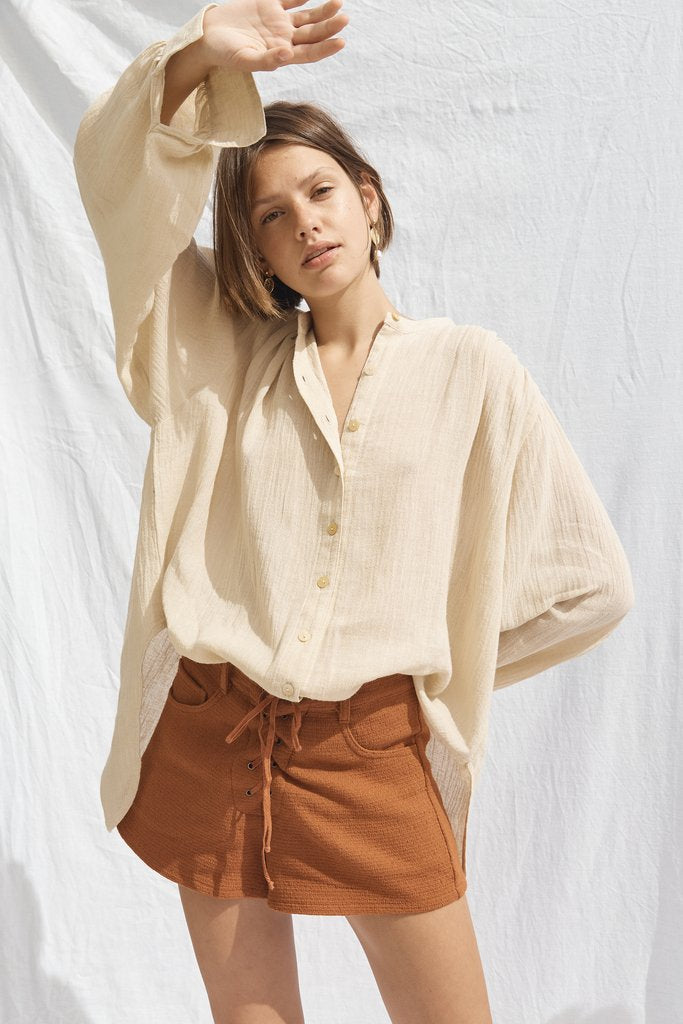 Jane Shorts – Ochre