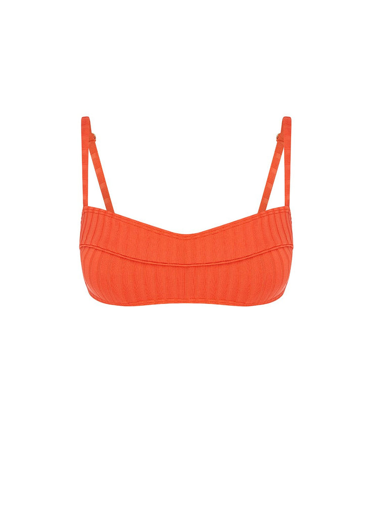 Tangerine Piped Crop