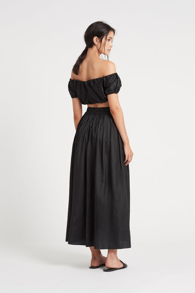 Valetta Maxi Skirt - Black