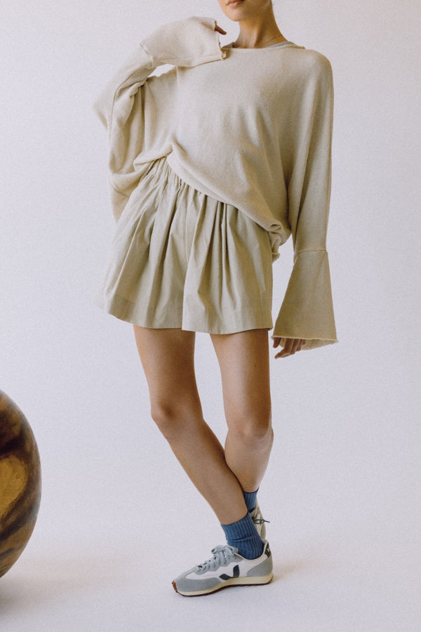 The Blanche Shorts - Beige