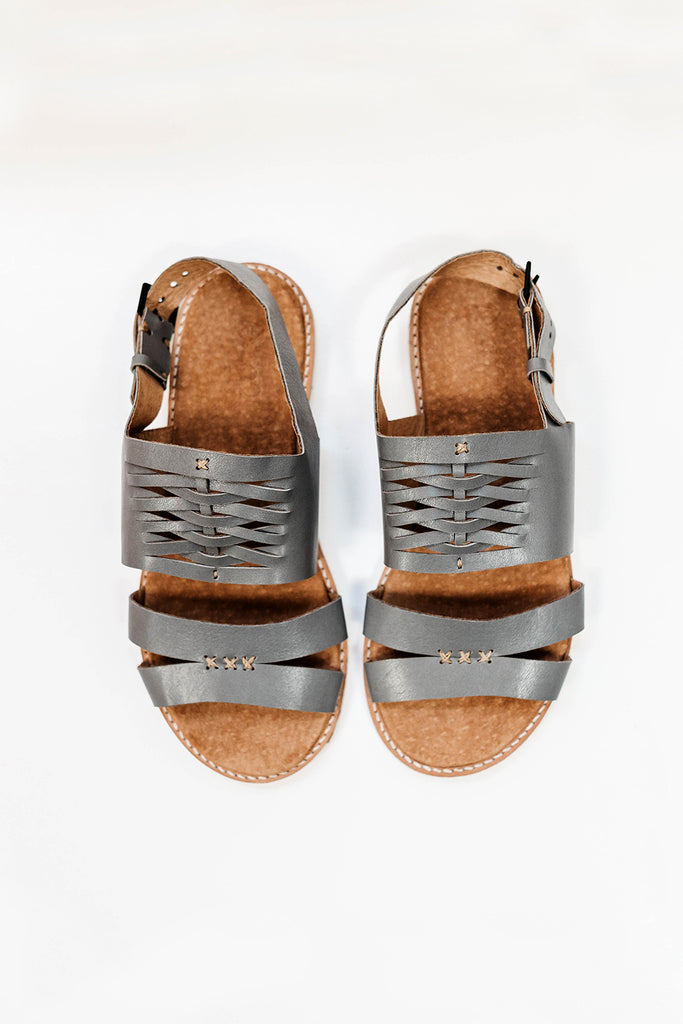 The Espadrilles – Grey Gum Leather