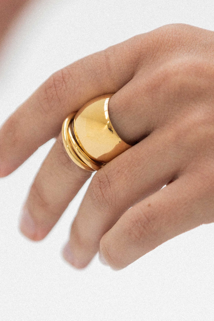 Better Together Rings - 14K Vermeil