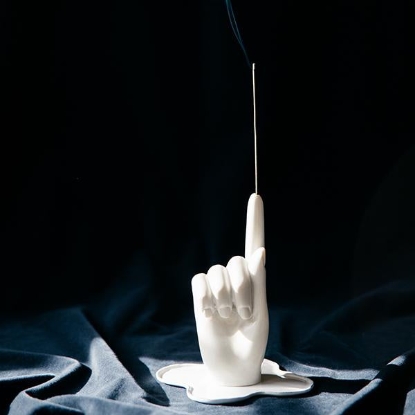 The Marble Hand Incense Holder