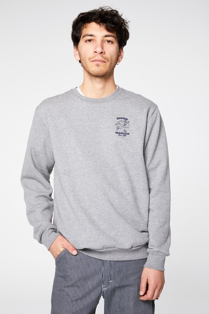 Health Club Sweat - Grey Marle