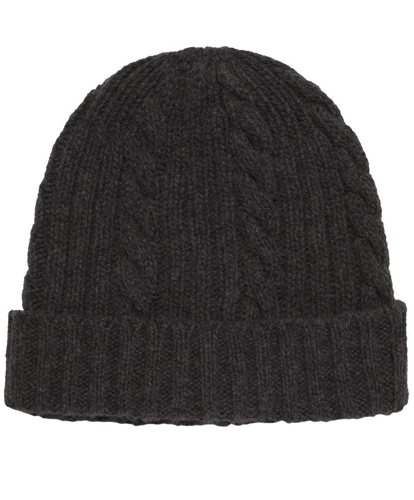Fisherman Beanie - Heather Charcoal