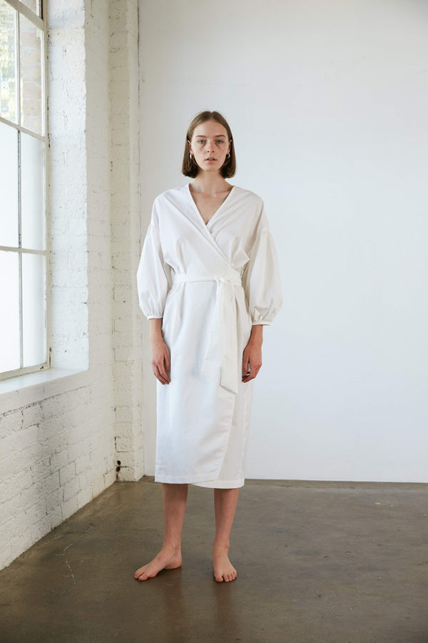 Agnes Wrap - Cloud Organic Cotton