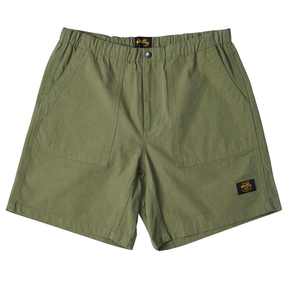 Splash Short - Army Ripstop Cotton