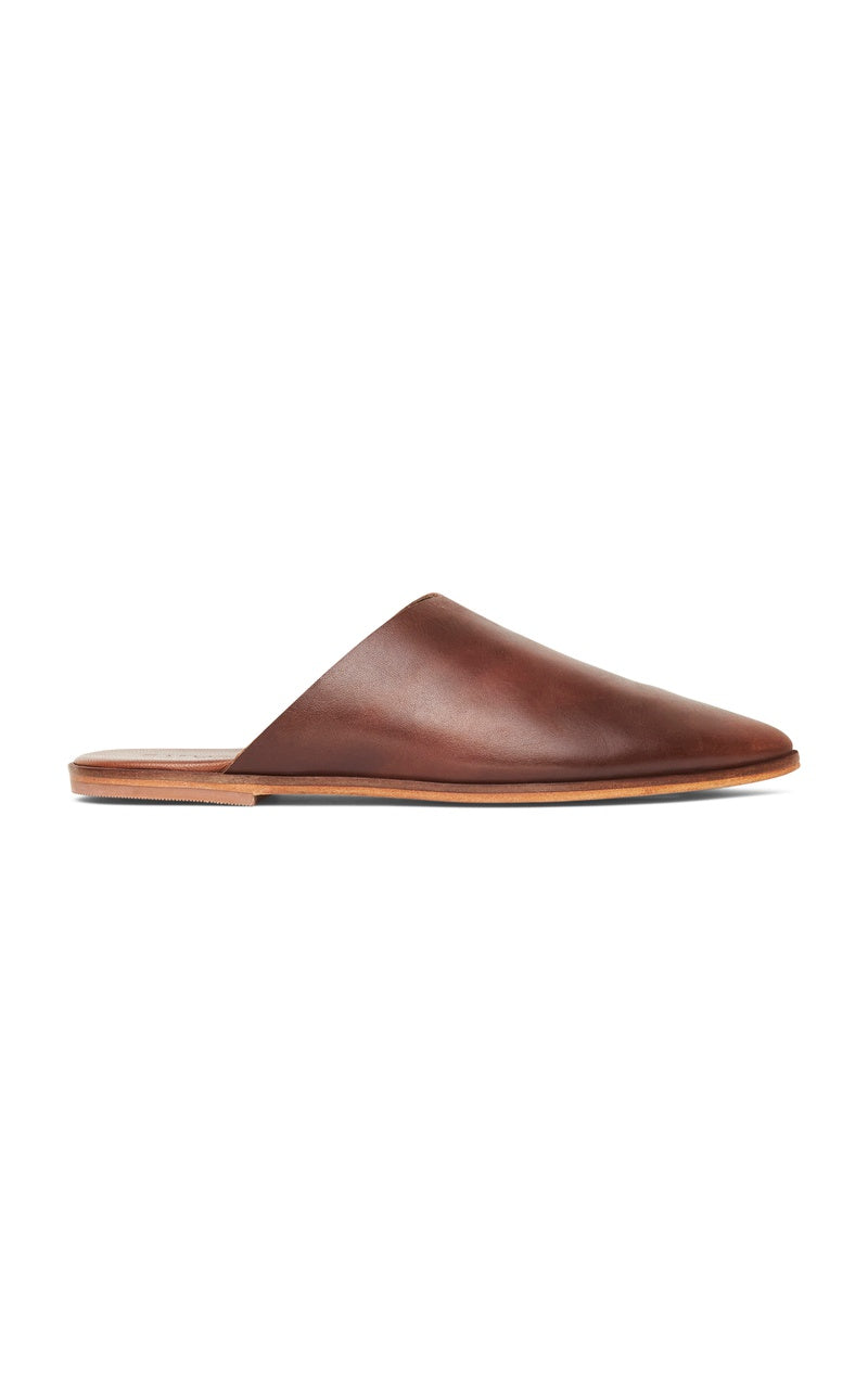 Zuri Flat - Antique Tan