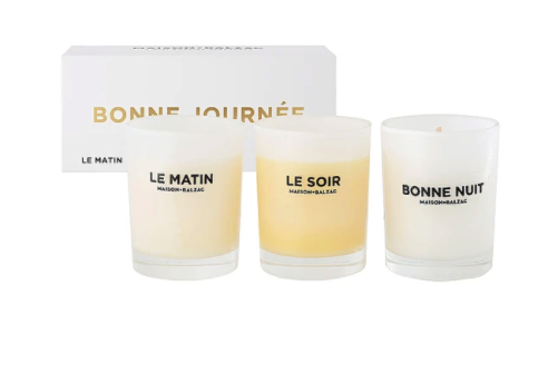 bonne journee trio mini candles