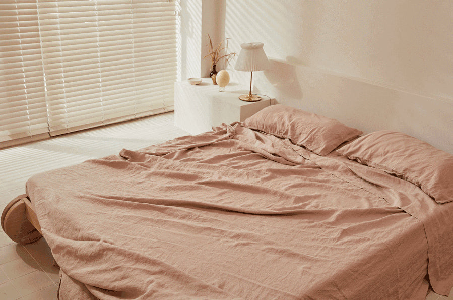 Sheet Set - Clay Pink