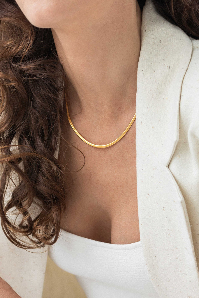 Vero Chain Necklace - 18K Vermeil