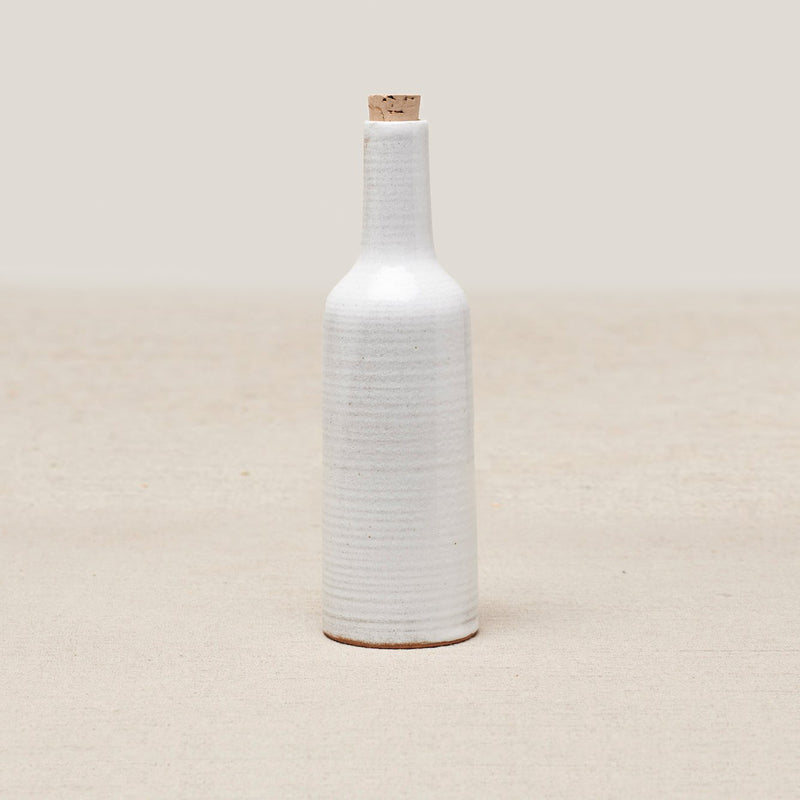 NARTI CERAMIC BOTTLE - White Lines