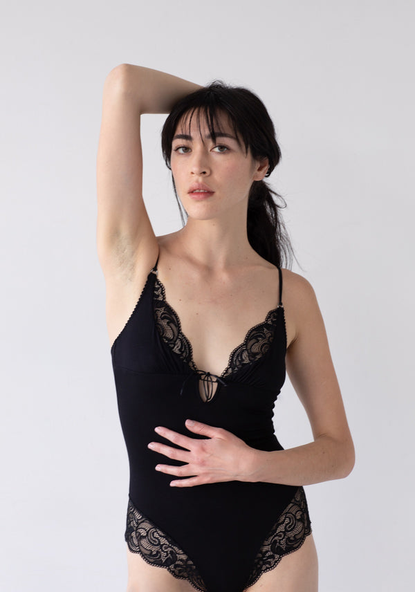Olivia Bodysuit - Black