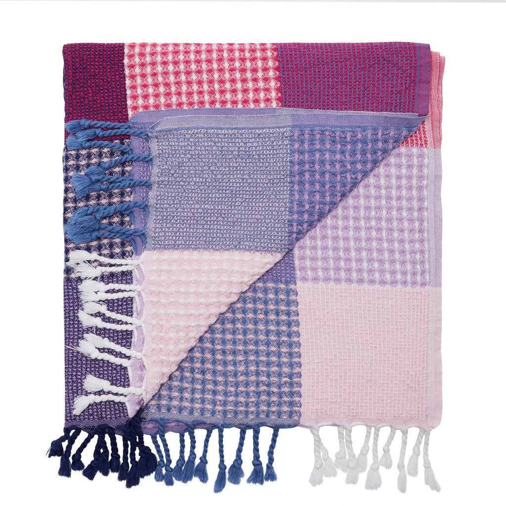 Patches Towel - Amethyst