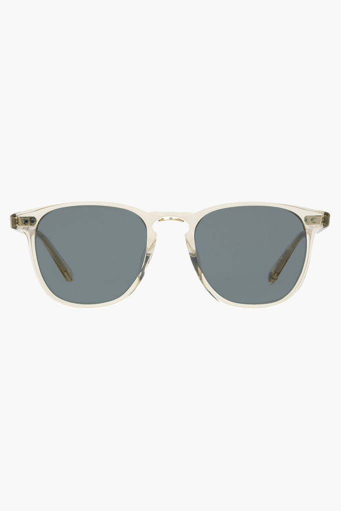 Brooks 47 Sunglasses - Champagne/Semi-Flat Blue Smoke
