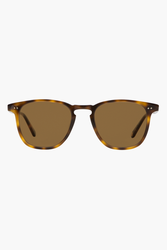 Brooks 47 Sunglasses- Classic Brown Tortoise/ Semi- Flat Pure Coffee