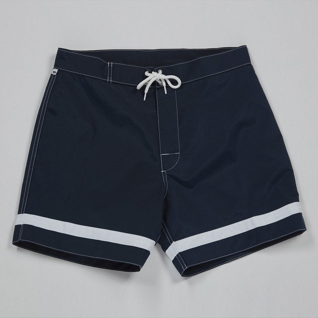 Crossbar Weave Trunks - Navy