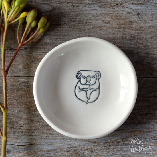 Bush Prints Porcelain Bowl - Koala