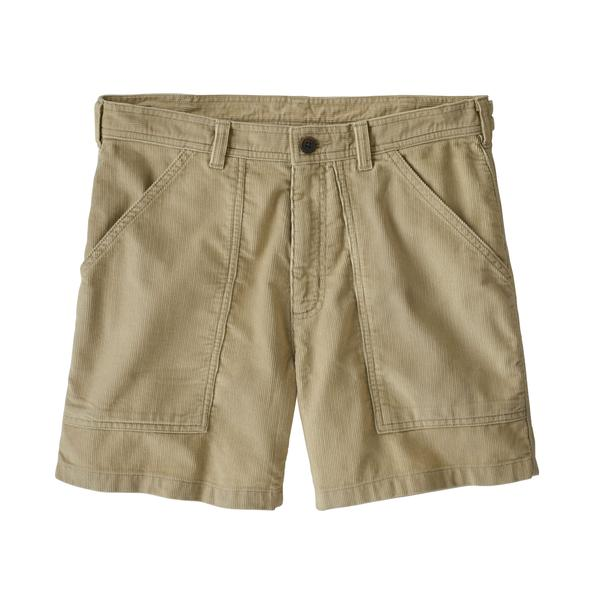 M's Organic Cotton Cord Utility Shorts - Pelican