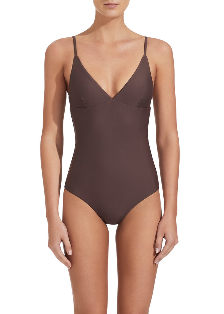 The Plunge Maillot - Clove