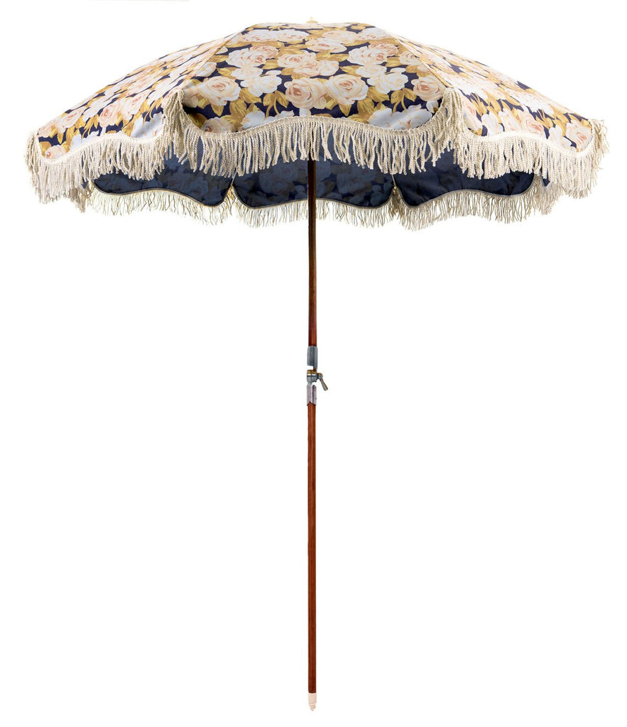 Premium Beach Umbrella - Faded Rose