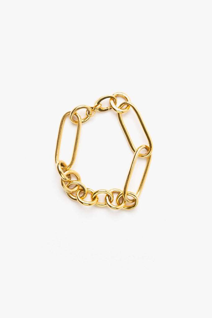 Leisure Chain Bracelet - 14k Vermeil