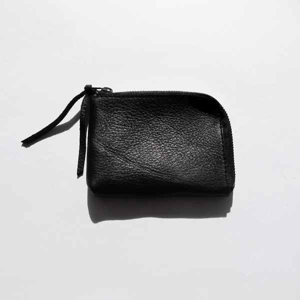 Hiro Zip Wallet - Black