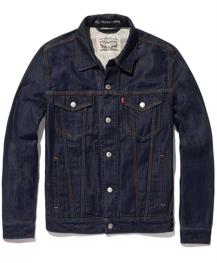Levi's Wellthread Lined Denim Trucker Jacket - Rinse