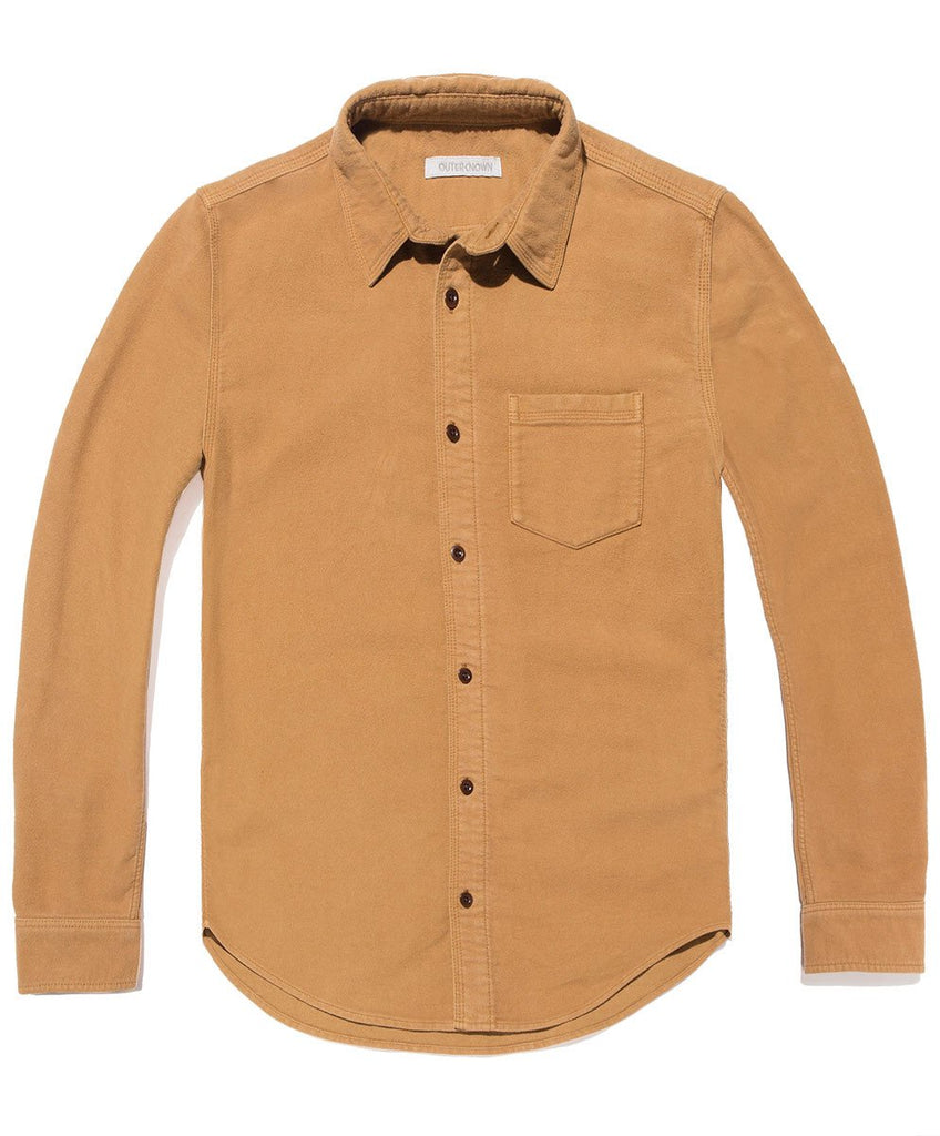 Lost Coast Moleskin Shirt - Curry
