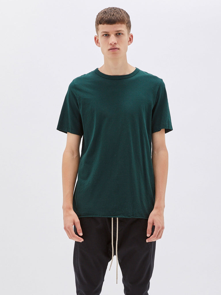 Classic Heritage Neck T-shirt - Deep Green