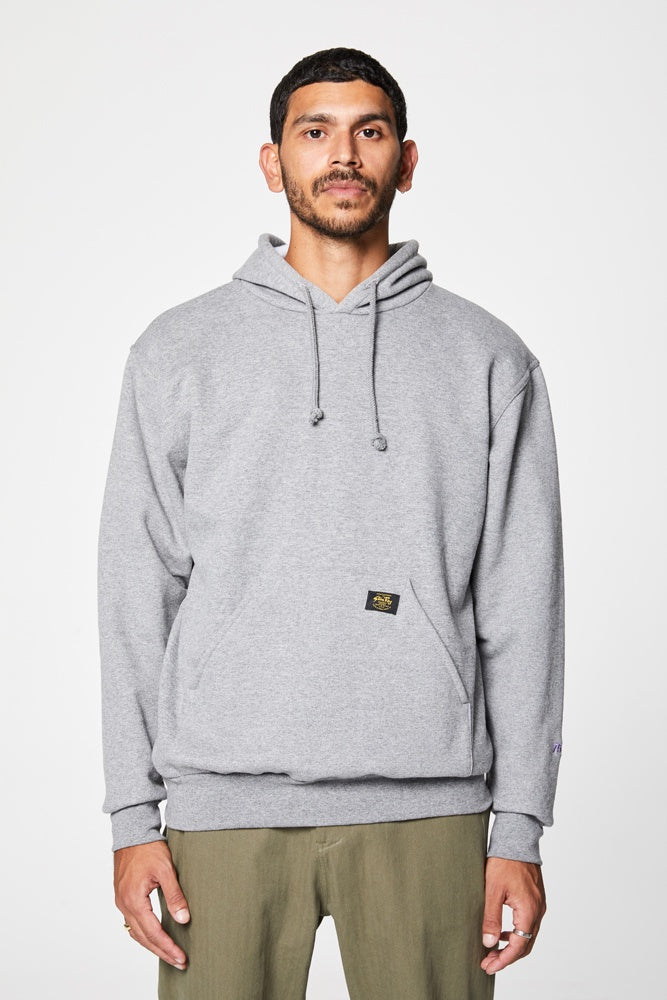 Crockett Hooded Fleece - Grey