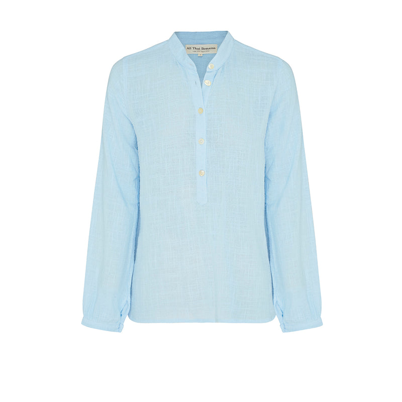 Elanor Shirt- Sky blue
