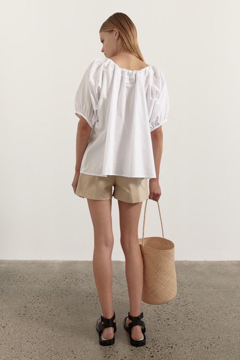 The Estelle Blouse - White