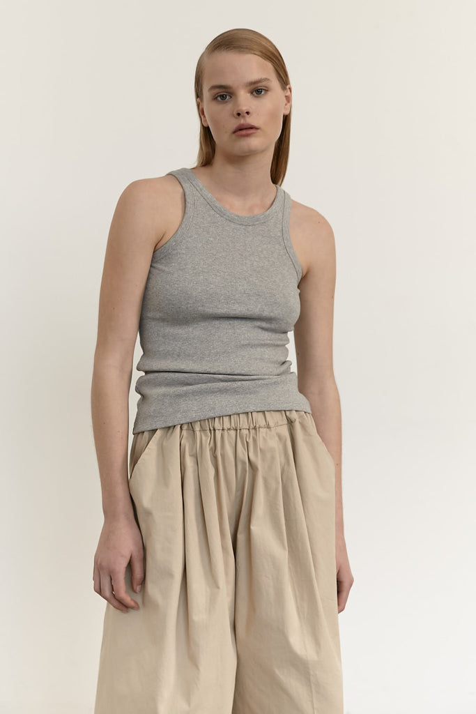 The Aline Tank - Grey